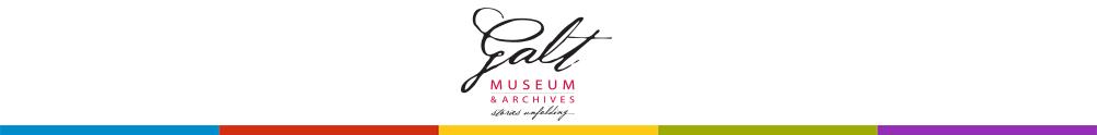 Galt Museum & Archives's Banner