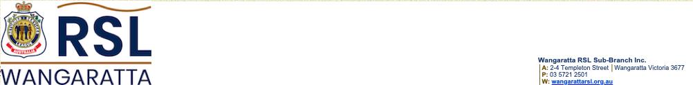 Wangaratta RSL - 10A's Home Page