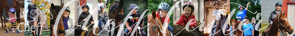 Cheff Therapeutic Riding Center's Home Page
