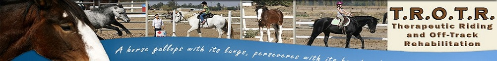 Therapeutic Riding and Off-Track Rehabilitation's Home Page