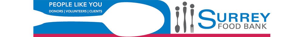Surrey Food Bank's Home Page