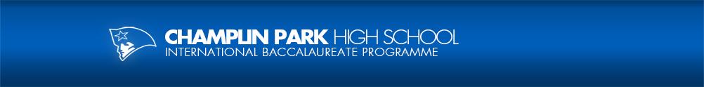 Champlin Park High School's Banner