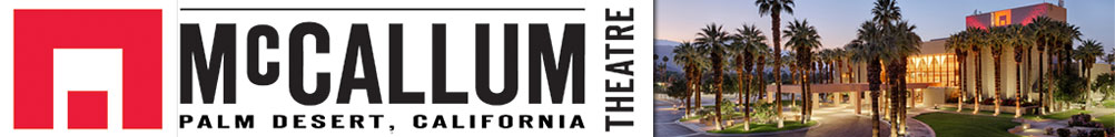 McCallum Theatre's Banner
