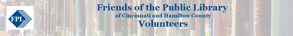 Friends of the Public Library of Cincinnati and Hamilton County's Banner