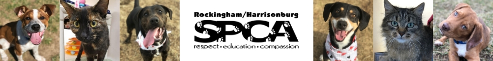 Rockingham-Harrisonburg SPCA's Banner