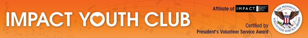 IMPACT Youth Volunteer Club's Home Page