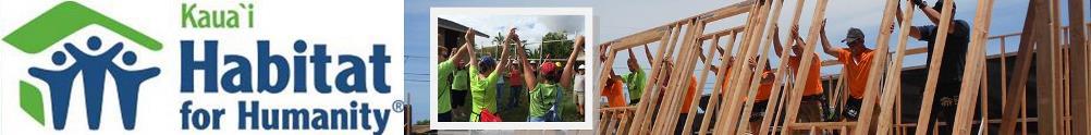Kauai Habitat for Humanity's Home Page