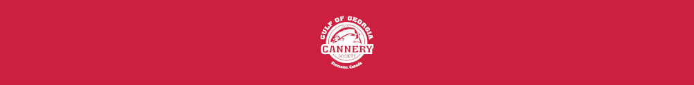 Gulf of Georgia Cannery Society's Banner