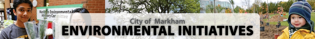 City of Markham - Sustainability & Environmental Services's Banner