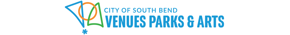 City of South Bend - Venues Parks & Arts's Banner