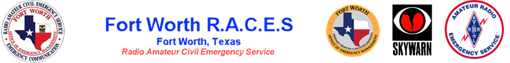 Fort Worth Radio Amateur Civil Emergency Service (RACES)'s Home Page
