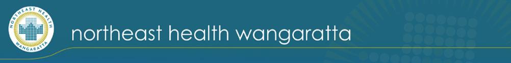 Northeast Health Wangaratta's Banner