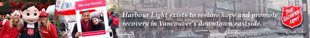 The Salvation Army Vancouver Harbour Light's Home Page