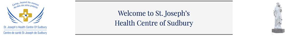 St. Joseph's Health Centre - Main Site's Home Page
