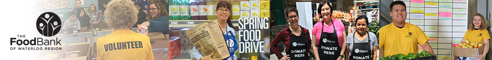 The Food Bank of Waterloo Region's Home Page