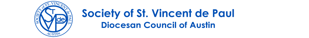 Society of St Vincent de Paul's Home Page