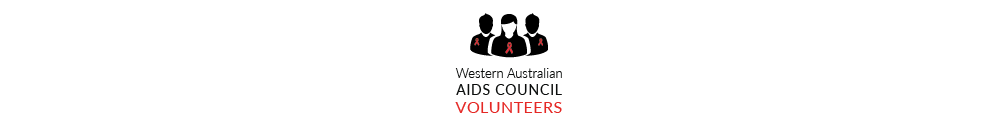 WA AIDS Council's Banner