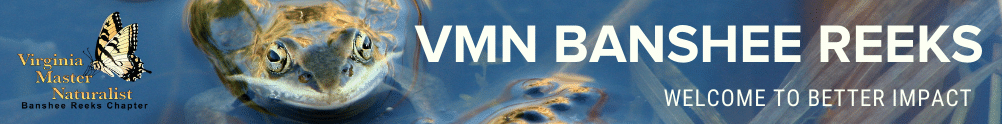 Virginia Master Naturalist Program - Banshee Reeks Chapter's Banner
