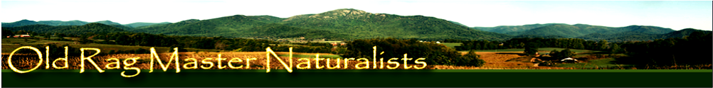 Virginia Master Naturalist Program - Old Rag Chapter's Home Page