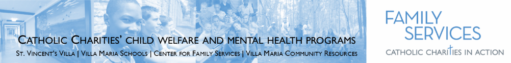 Family Services - Youth Behavioral Health & Adult Disabilities - Gallagher & Villa programs's Banner