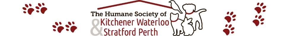 The Humane Society of Kitchener Waterloo & Stratford Perth's Home Page