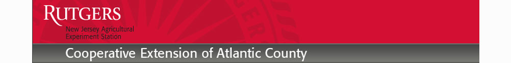 Rutgers Cooperative Extension of Atlantic County's Banner