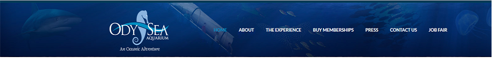 OdySea Aquarium's Home Page
