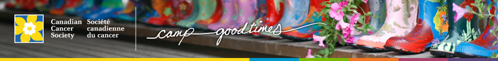 Canadian Cancer Society - Camp Goodtimes Year-Round's Home Page