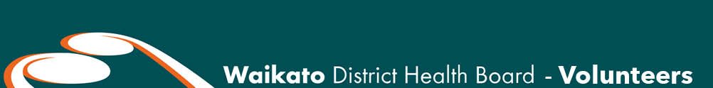 Waikato District Health Board's Banner