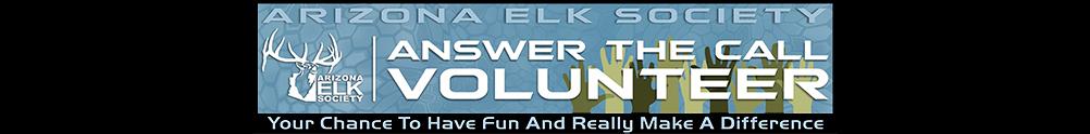 Arizona Elk Society's Banner
