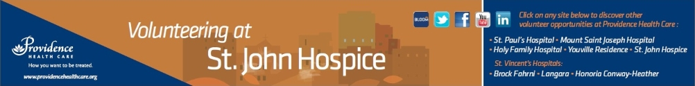 St. John Hospice's Home Page