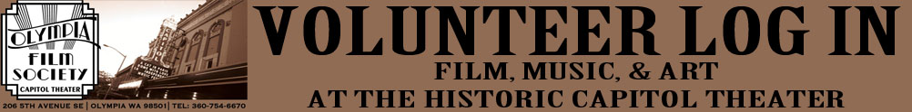 Olympia Film Society's Banner