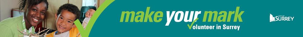 City of Surrey - Community & Recreation Services - 0-18 Volunteer Program's Home Page
