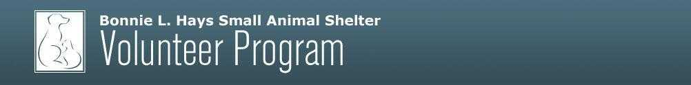 Washington County - Bonnie L Hays Small Animal Shelter's Banner