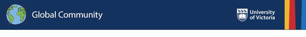UVic Global Community's Banner