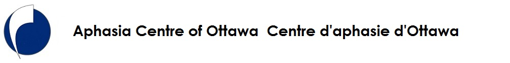 Aphasia Centre of Ottawa's Home Page