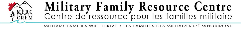 Comox Military Family Resource Centre's Banner