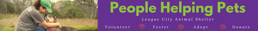 League City Animal Care's Banner