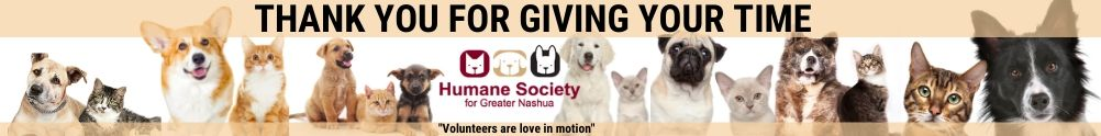 Humane Society for Greater Nashua's Home Page