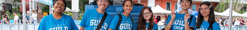 Student Guild Griffith University Volunteer Hub's Banner