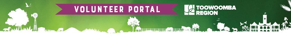 Toowoomba Region – Volunteer Portal's Banner