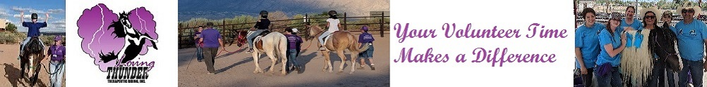 Loving Thunder Therapeutic Riding, Inc.'s Home Page