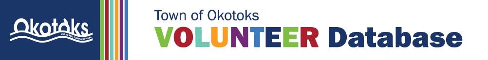 Town of Okotoks, Volunteer Resource Centre's Home Page