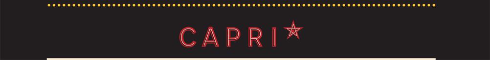 Capri Theatre's Banner