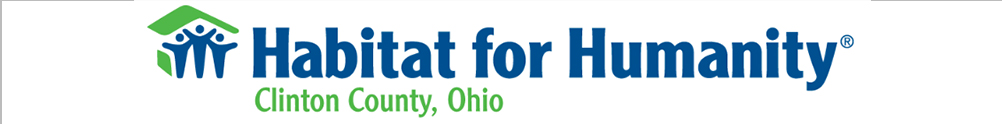 Clinton County Habitat for Humanity's Home Page